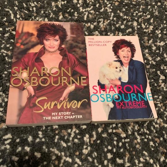 SHARON OSBOURNE Book Bundle 🌸